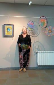 Casa de Artista,agua ,aire y bosque - San Hilari Sacalm