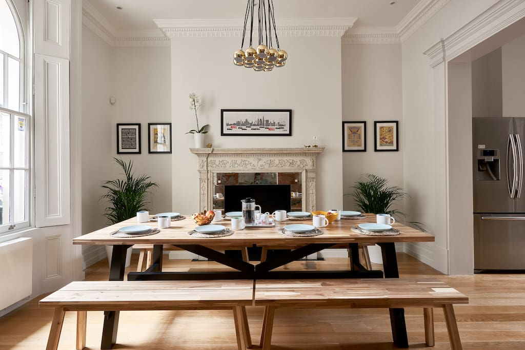 Our property has everything you need; a spectacular, family-style dining area...