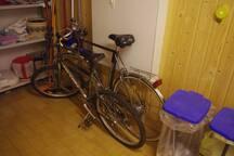 Fahrräder zur Mitbenutzung