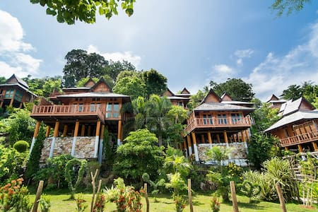 Superior Villa with partial sea view on Phi Phi - Phi Phi Islands