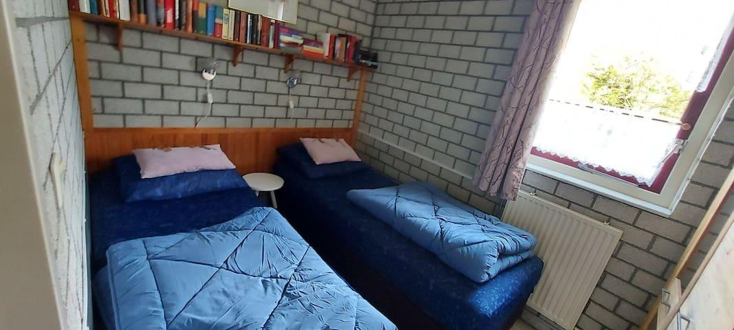 Schlafzimmer 1 Bett zusammenstellbar, 2x80x190cm
