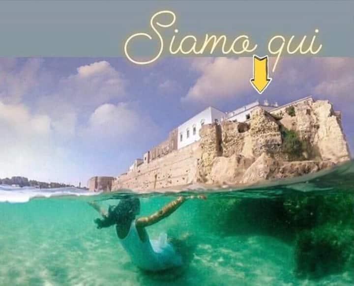 Risveglio su nave vista mare nel cuore di Otranto