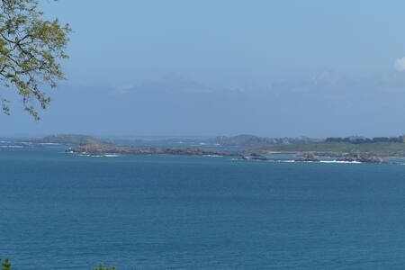 La Cerisaie, chambre très belle vue mer