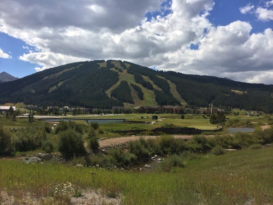 Summer view of Copper Mountain.