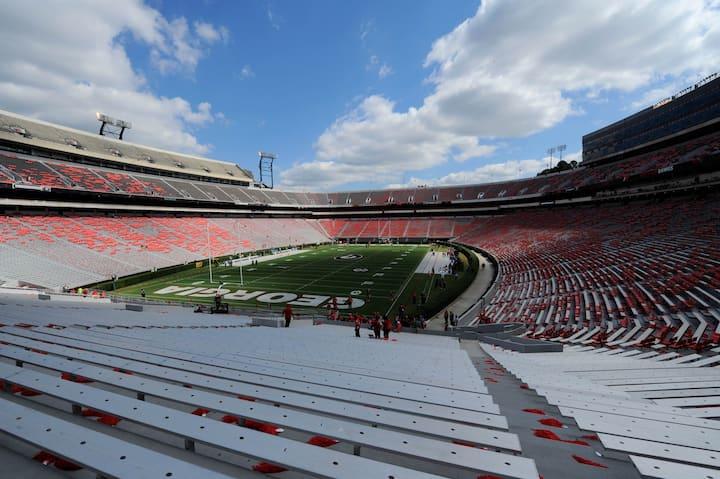 Sanford Stadium- Street View