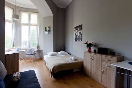 Beautiful Room with Window Bay - Breslau