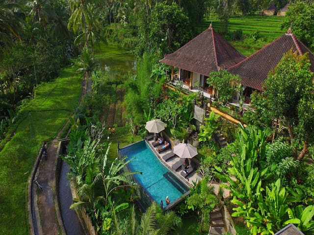 Spectacular Private Studio Ubud Rice Terraces 1 - เทกัลลาลัง