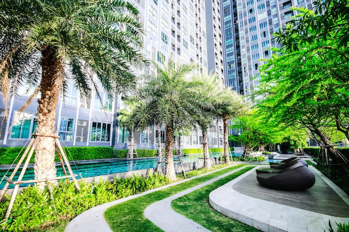 Prestigious Private Stay w Greenery View  -100mBTS