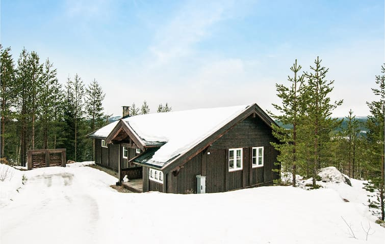 Holiday cottage with 3 bedrooms on 82m² in Nybergsund