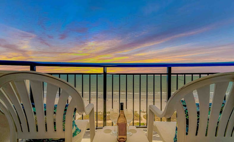 Myrtle Beach Oceanfront Condo- Totally Remodeled