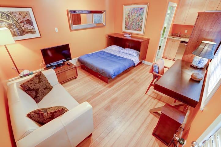 Quaint Studio House in Strathcona