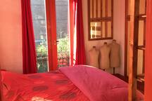 2 person room with big double bed