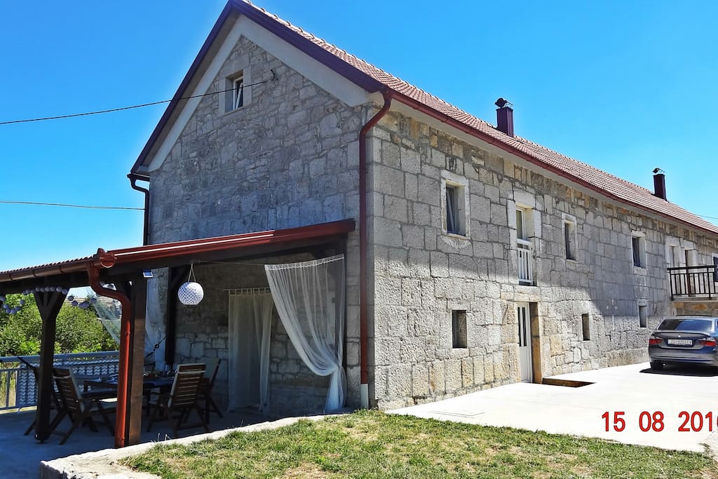 View on the house