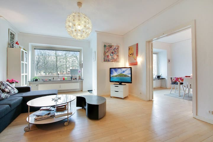 Cozy and large apartment on Frederiksberg
