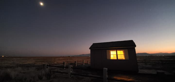 The Little, Brave House at Soda Lake