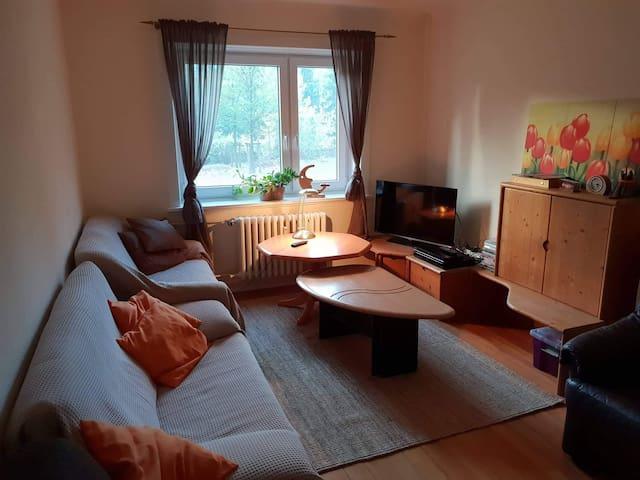 Gesamte 2 Zimmer Wohnung  |  100 Mbit/s WLAN