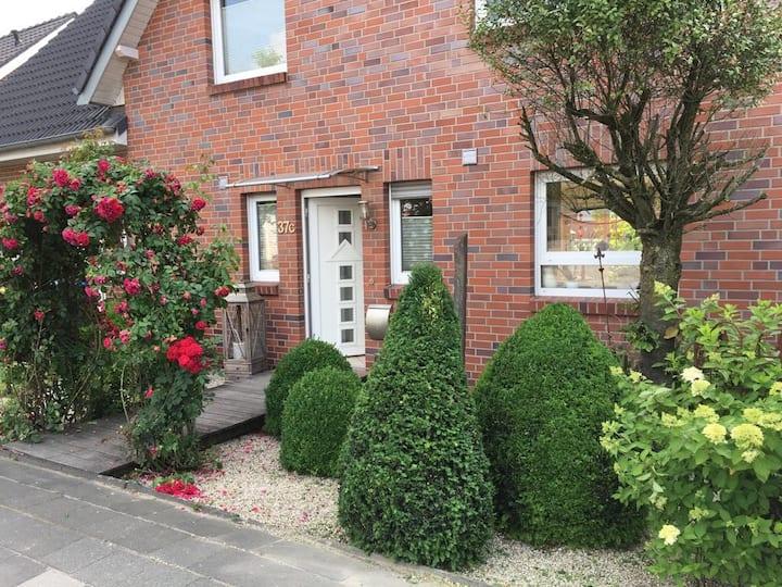 Doppelhaus mit Garten und Terrasse in Billerbeck