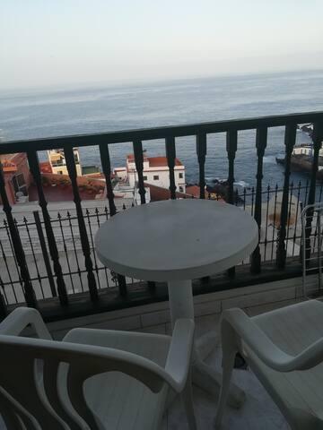 Апартамент с видом на океан.