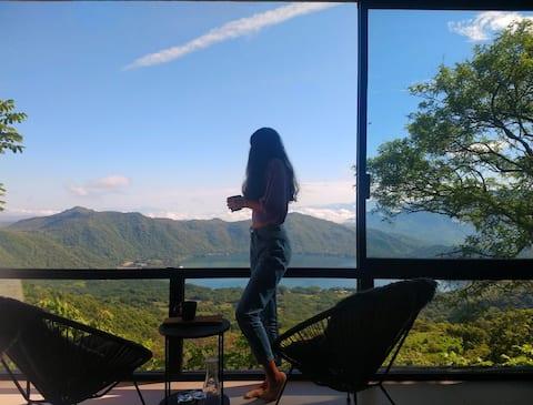 Las Magnolias, Terraza al cielo.