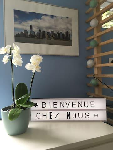 Studio indépendant aux portes de Lille jardin