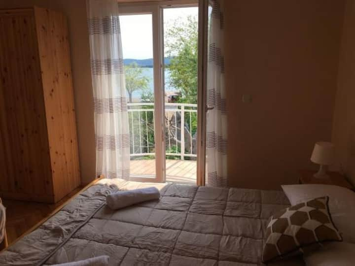 Apartments Roko- One bedroom apartment with balcony and sea view (A3)