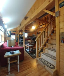 """""""The Good Life Cabin"""" Adk. Mtns."""