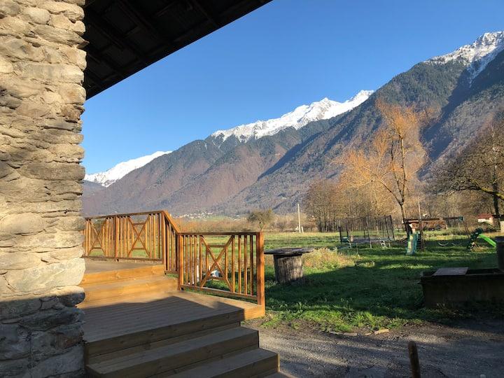Maison en pierre lac et ski/Cottage lake&mountains