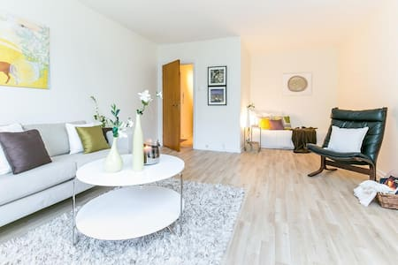 Norwegian style 20m from 24h public transportation - Oslo - Appartement