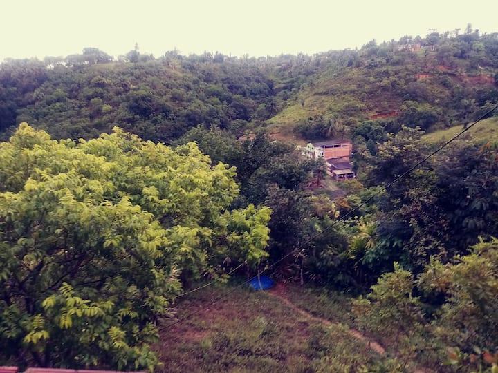 Recanto privativo junto a Natureza com comodidade
