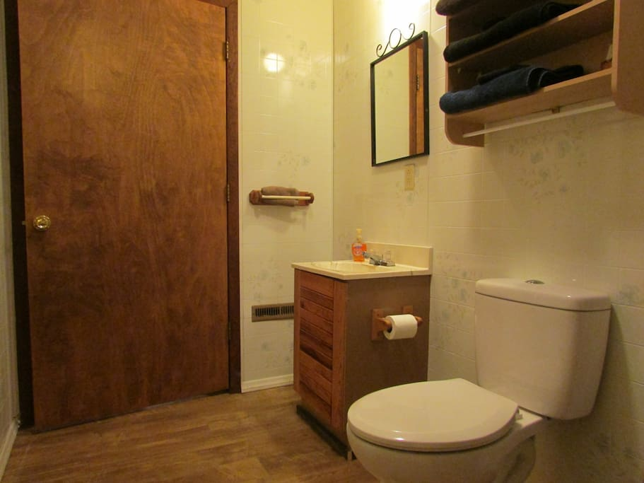 picture of your private bathroom