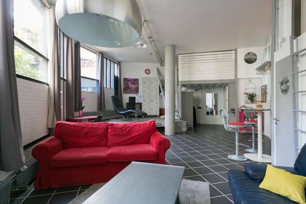 Loft 65 m2 tout proche de paris lofts louer ivry sur seine le de fran - Achat loft ile de france ...