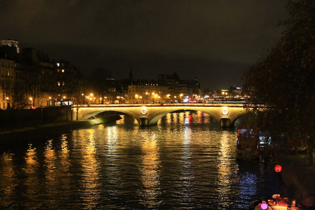 Un des quai de Paris