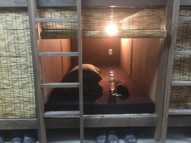 Cheap capsule bed near the central 3 - Hakata-ku, Fukuoka-shi - Guesthouse