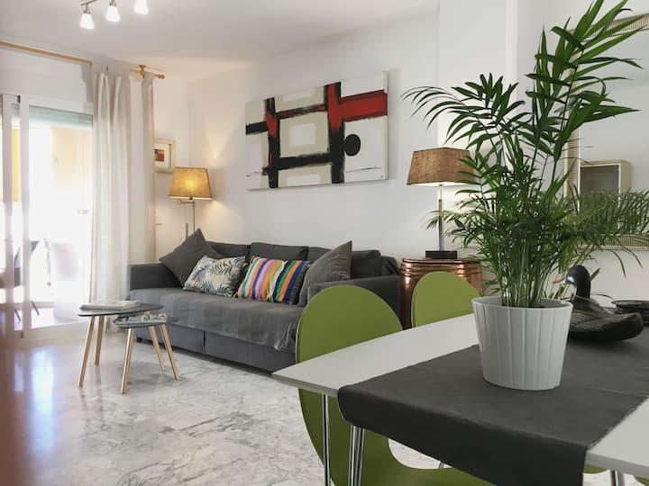 Luminoso y acogedor apartamento de 1 dormitorio