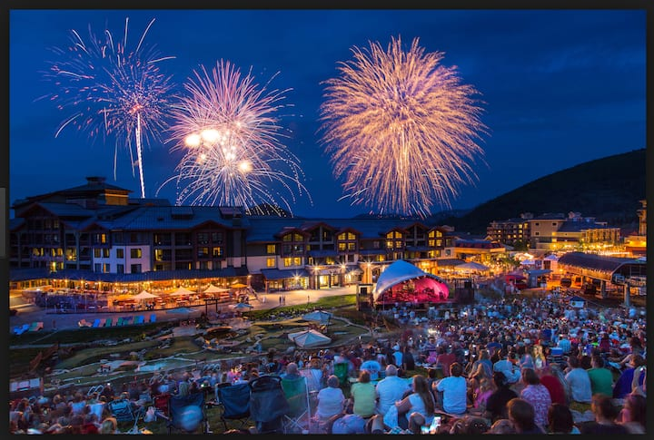 4th OF JULY FESTIVAL IN BEAUTIFUL PARK CITY $108/N