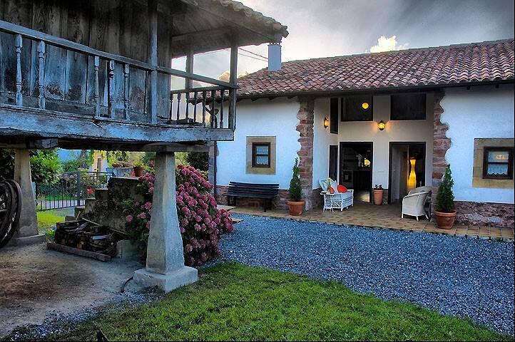 Casa rural con jardín en Amandi, Villaviciosa