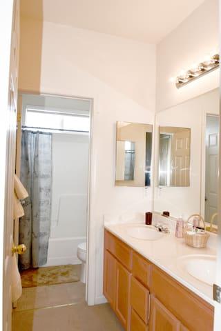 Upstairs bathroom #2