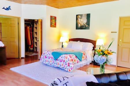 Spacious Room in Volcano Village with Lanai - 火山 - 独立屋