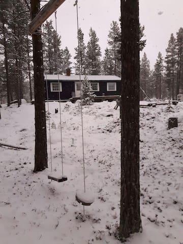 Tunhovd hytte nært ski og fisk