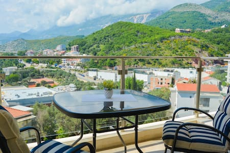 2BDR Belveder Apartment in Przno with Sea View