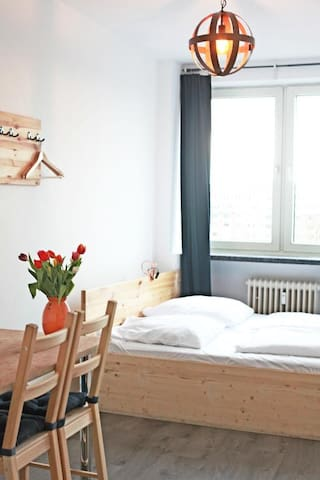 Double room in city center, next to berliner Tor