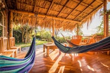 You can get lost in the hammocks.