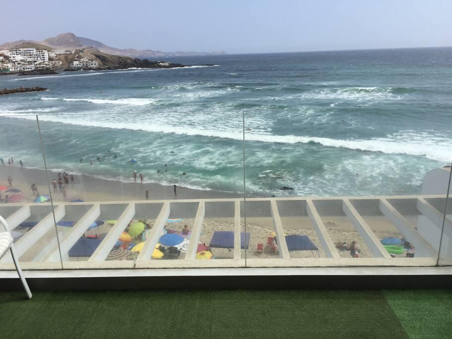 Vista desde la sala terraza