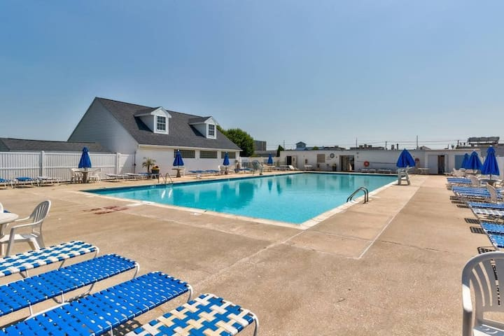 Two pools in our community during high season! You won't find a better vacation home with all our amenities in all of OC then our hidden gem!