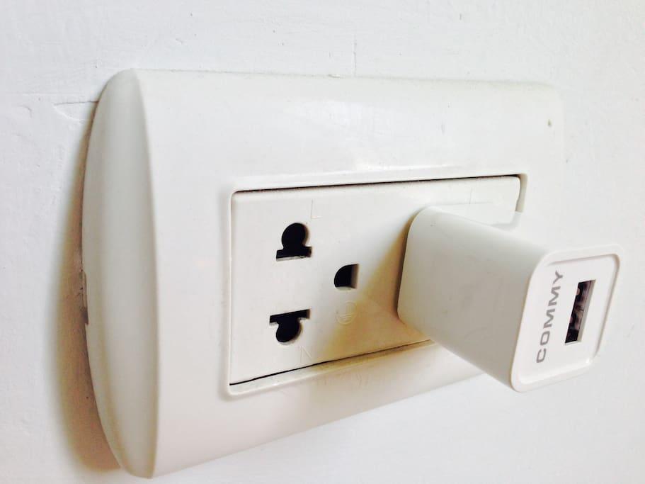 Plug Thai-style.