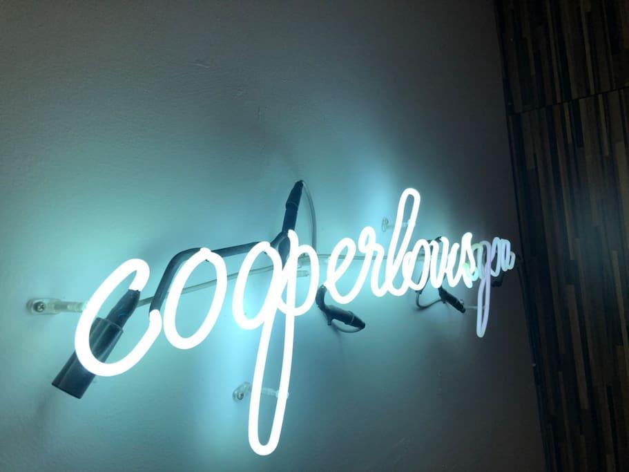 Cooper Neon Sign