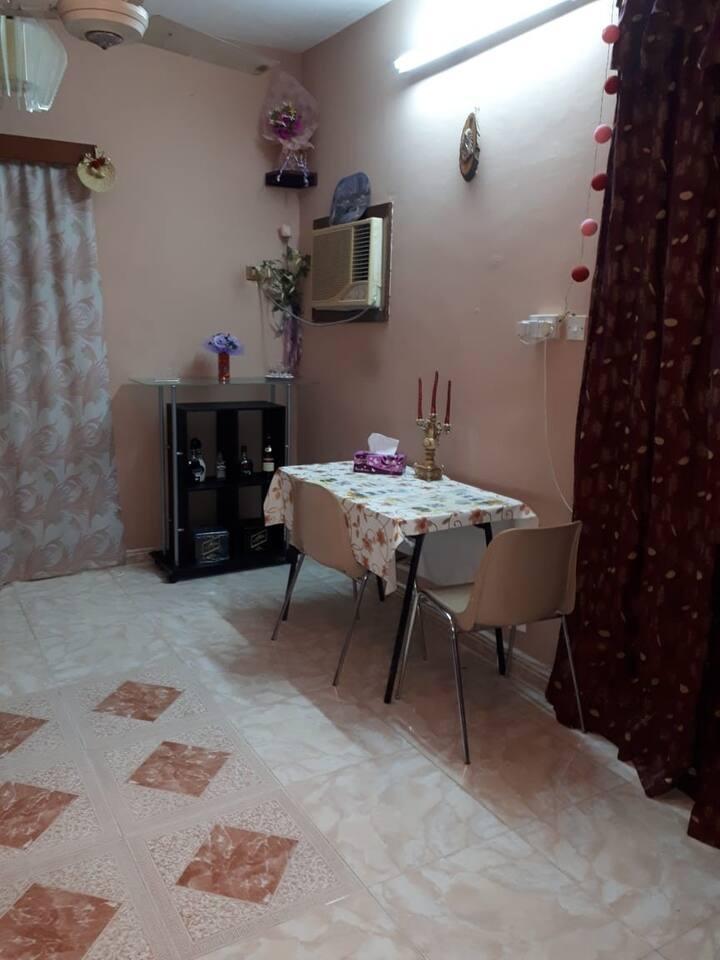 A warm cosy apartment