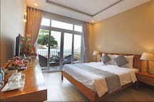 The magnificent sea view room
