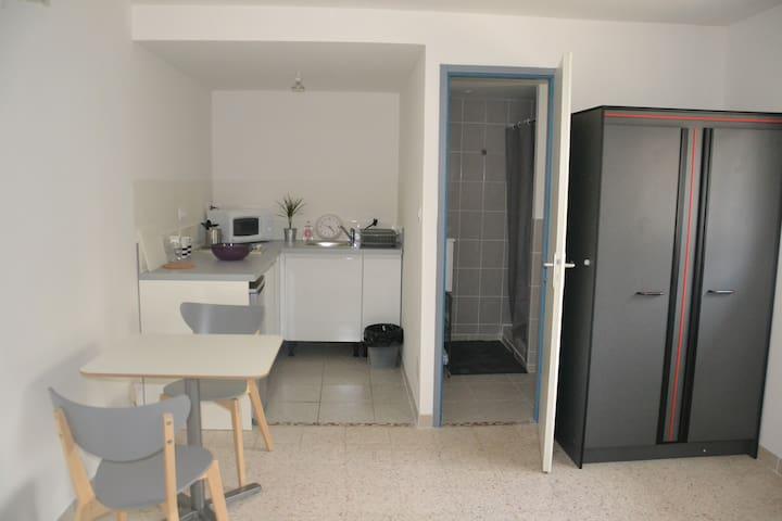 Appartement Camargue/plages/2 personnes - Lunel - Apartamento