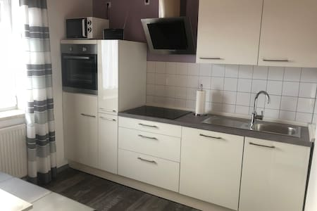 Spacious apartment / transitional apartment